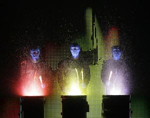 Blue Man Group National Tour Credit photo: ©Paul Kolnik paul@paulkolnik.com nyc 212-362-7778