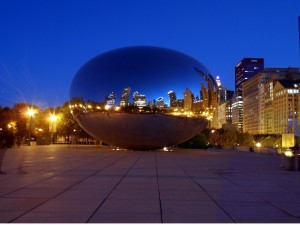 chicago_bean_night